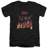 KISS - Destroyer Cover V-neck Shirts
