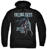 Hoodie: Falling Skies - Battle Or Become Pullover Hoodie
