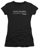 Juniors: Die Hard - Criminal Genius T-Shirt
