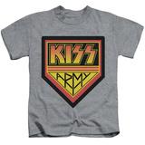 Juvenile: KISS - Army Logo T-Shirt