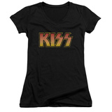 Juniors: KISS - Classic V-Neck T-shirts