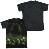 Alien - Ominous (black back) T-shirts