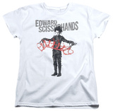 Womans: Edward Scissorhands - Show & Tell Shirts