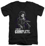 Edward Scissorhands - Not Complete V-neck T-Shirt