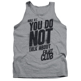 Tank Top: Fight Club - Rule 1 Tank Top