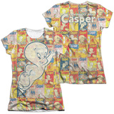 Juniors: Casper - Covered (Front/Back Print) T-Shirt