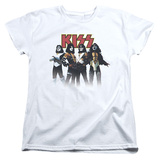 Womans: KISS - Throwback Pose Shirts