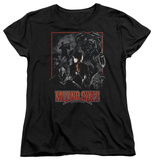 Womans: Falling Skies - Collage T-Shirt