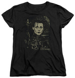 Womans: Edward Scissorhands - Edward T-shirts