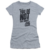 Juniors: Fight Club - Rule 1 T-Shirt