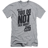 Fight Club - Rule 1 (slim fit) T-Shirt