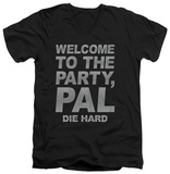 Die Hard - Party Pal V-neck T-Shirt
