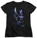 Womans: Alien vs Predator - Alien Head Shirts