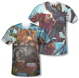 Masters Of The Universe - Heroes And Villains (Front/Back) Shirts