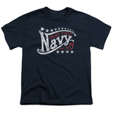 Youth: Navy - Stars Shirts