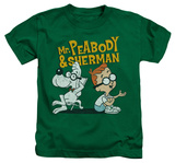 Juvenile: Mr Peabody & Sherman - Deep Conversation T-Shirt