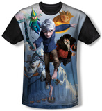 Rise Of The Guardians - Together Now (black back) T-Shirt