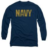Longsleeve: Navy - Logo T-Shirt