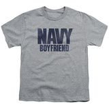Youth: Navy - Boyfriend T-shirts