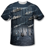 Navy - Fleet T-shirts
