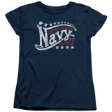 Womans: Navy - Stars T-shirts