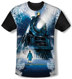 Polar Express - Journey (black back) T-Shirt