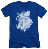 Rise Of The Guardians - Coming For You (slim fit) T-shirts