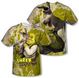 Shrek - Best Friends (Front/Back) T-Shirt