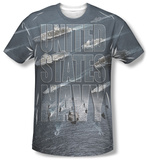 Navy - Fleet T-Shirt