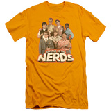 Revenge Of The Nerds - Group Of Nerds (slim fit) T-shirts