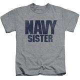 Juvenile: Navy - Sister T-shirts