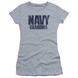 Juniors: Navy - Grandma T-Shirt