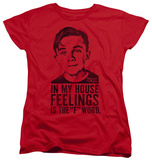 Womans: Malcolm In The Middle - F Word T-shirts