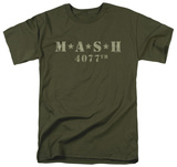 M.A.S.H - Distressed Logo T-Shirt