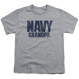 Youth: Navy - Grandpa T-shirts