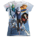 Juniors: Rise Of The Guardians - Together Now T-shirts