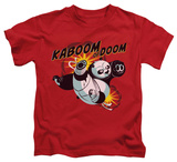 Youth: Kung Fu Panda - Kaboom Of Doom Shirts