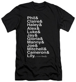 Modern Family - Names (slim fit) T-Shirt