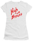 Juniors: Revenge Of The Nerds - High On Stress T-Shirt