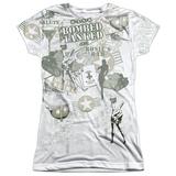 Juniors: M.A.S.H - Bombed Tank T-Shirt