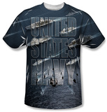 Youth: Navy - Fleet Shirt
