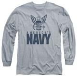 Longsleeve: Navy - Eagle Logo T-Shirt