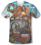 Masters Of The Universe - Heroes And Villains Sublimated