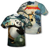 Kung Fu Panda - Training (Front/Back) Shirts