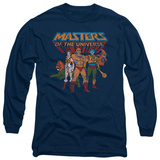 Longsleeve: Masters Of The Universe - Team Of Heroes Long Sleeves