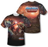 Masters Of The Universe - Battle (Front/Back Print) Shirts