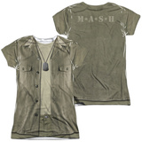 Juniors: M.A.S.H - Hawkeye Costume (Front/Back Print) Shirts