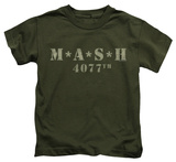 Youth: M.A.S.H - Distressed Logo Shirts
