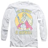 Longsleeve: She Ra - Honor Of Grayskull T-shirts