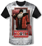 Rise Of The Guardians - North (black back) T-Shirt